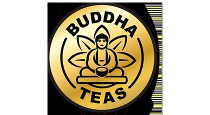 logo buddha teas